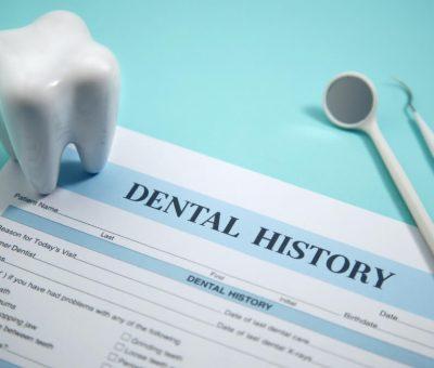 dentist medical history form