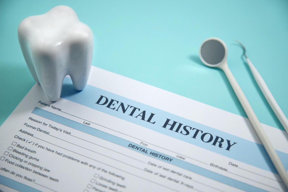 dentist medical history form