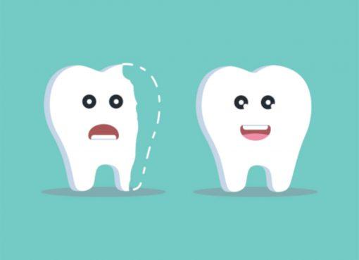 fix a broken tooth