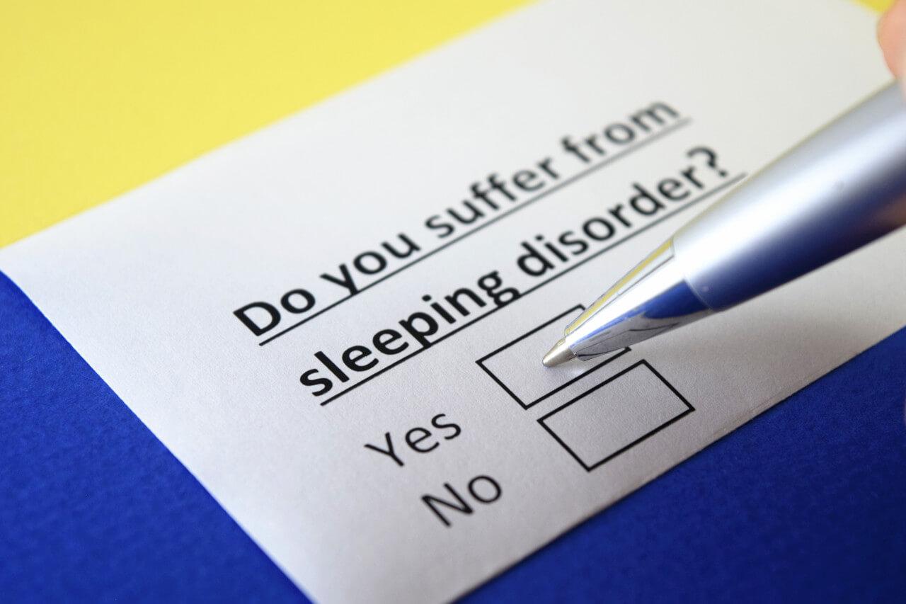 sleep disorders test